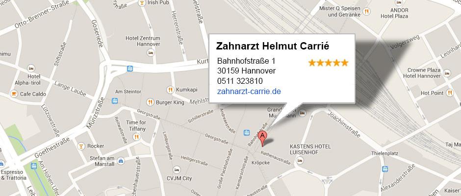 Carrié Google Map